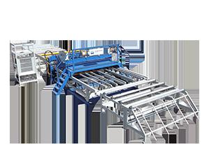 5-12mm钢筋网焊网机带落片功能