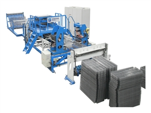 货架网焊接生产线
