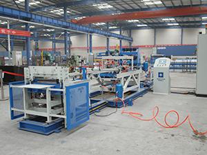 隔片网焊接生产线调试视频