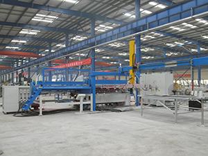 双丝护栏网焊接生产线调试视频