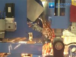 全自动建筑网焊接生产线调试视频
