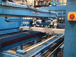 蒸压加气混凝土板材网片焊接生产线-双片自动焊接