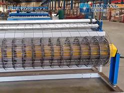 建筑网焊网机调试-带卷网机